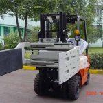 China Leknik Hidrolik Efisien Lektrik Forklift Efisien Multi Clamp Tujuan