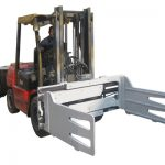 Fork Truck Rotating Bale Clamp With Forklift