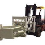 Forklift Tireni Ngalahake Lengganan Teleskop Teleskopik