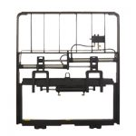 Heavy Positioner Garpu Metal Hydraulic tugas Kanggo Diesel Forklift