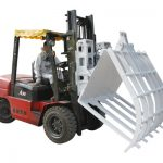 Kertas Limbah Bahan Kimia Serat Forklift Hameed Broke Handler