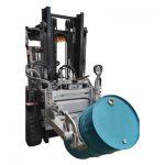 Hydraulic Forklift 55 Ggallon Drum Clamp kanggo Forklift